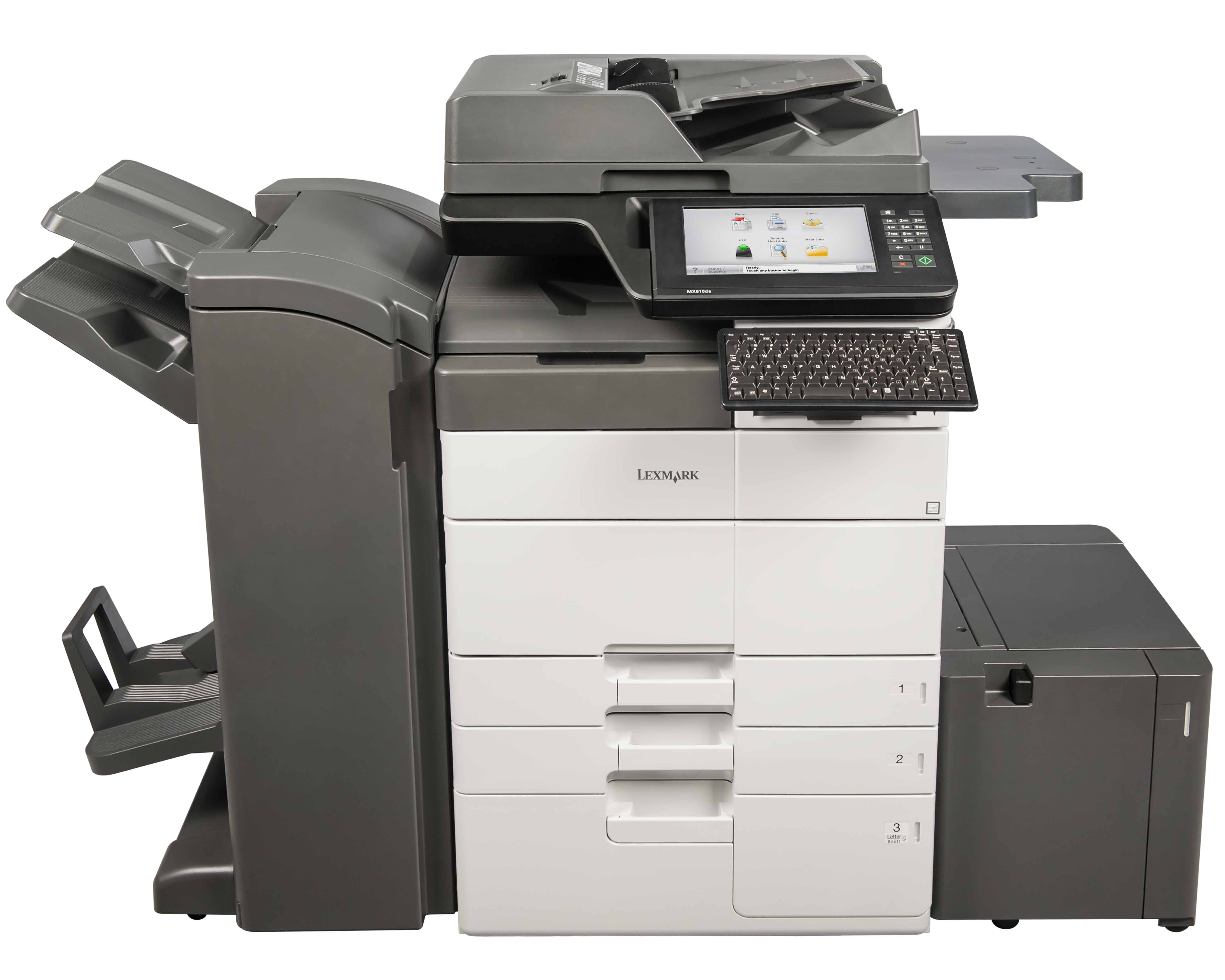 Lexmark XM950 Series - Booklet Finisher and LCT Config
