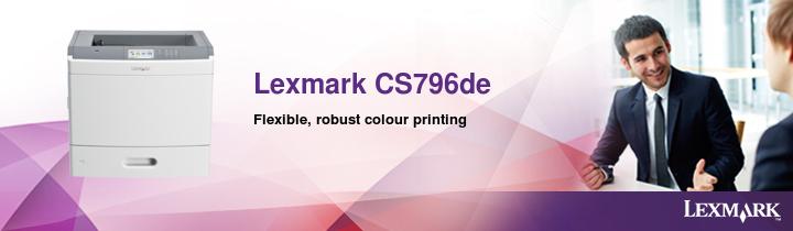 Lexmark CS796de Banner