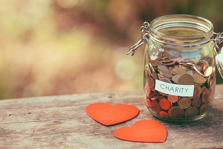 Not for Profit - Charity Donation Jar