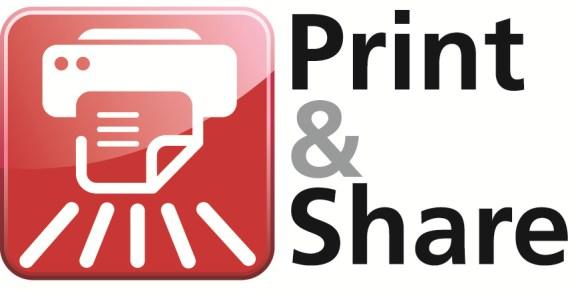 Ricoh Print & Share Logo