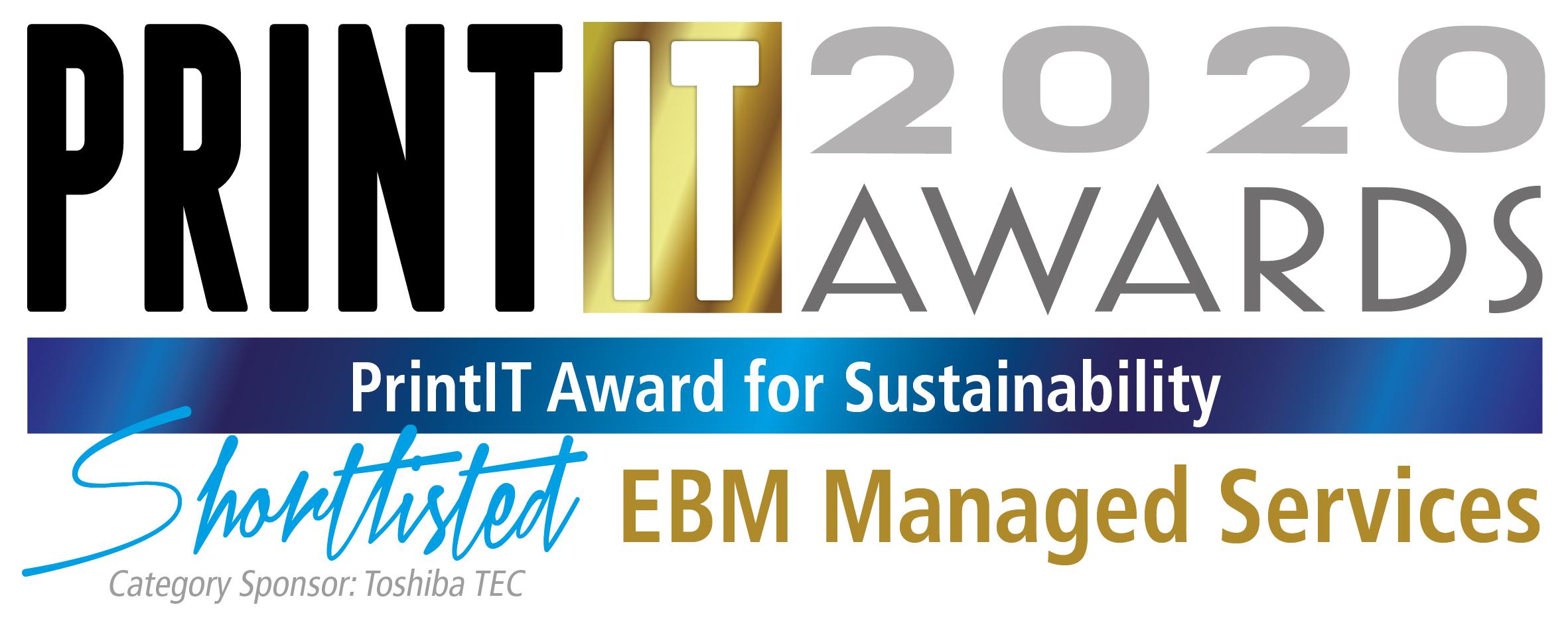 Print IT Awards 2020 - Shortlisted Logo
