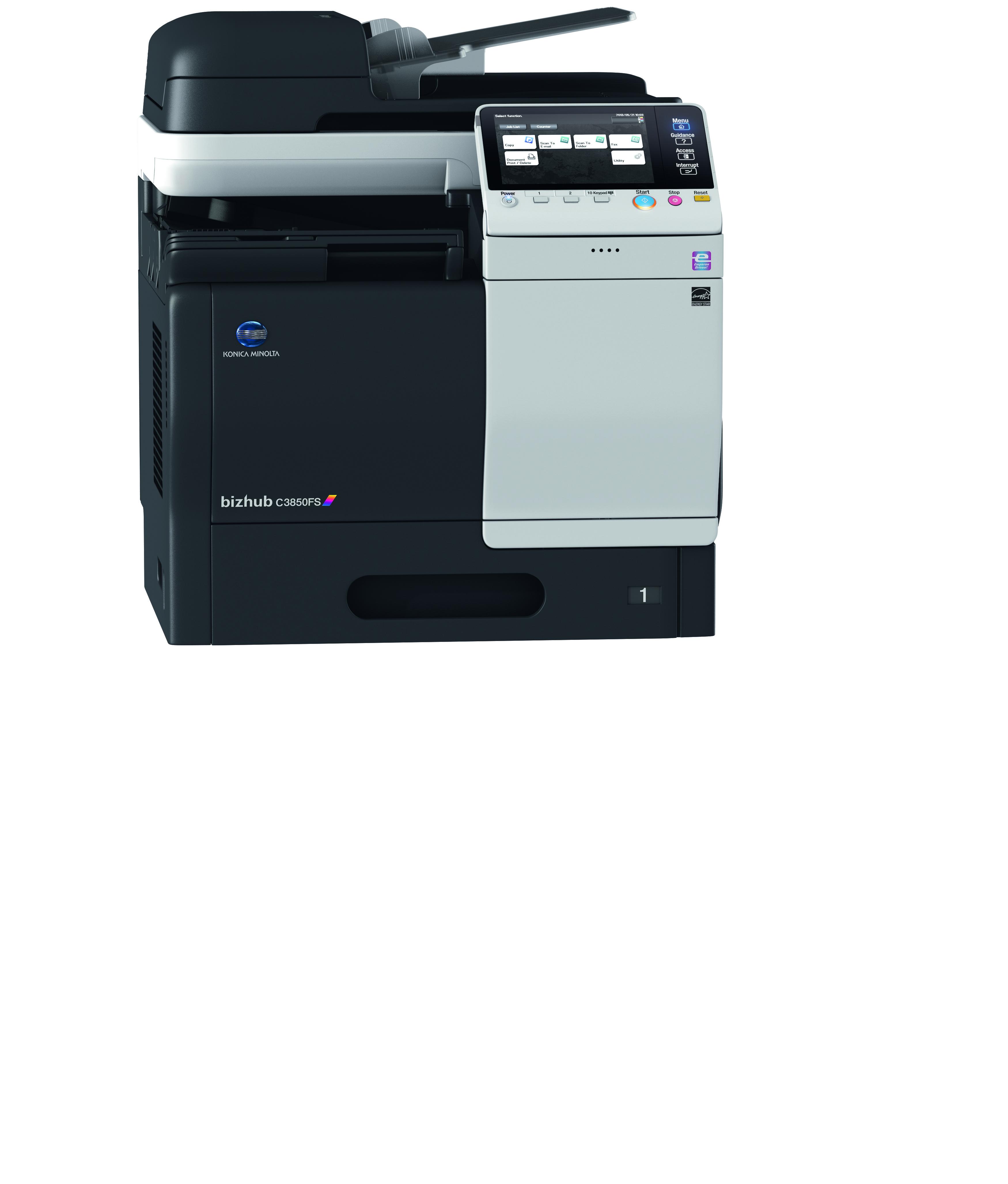 konica minolta bizhub c3850fs multifunction printer ebm ltd Konica Minolta Bizhub 250 Copier Minolta Bizhub C20x