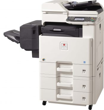 Olivetti d-Color MF2001PLUS colour machine with Finisher