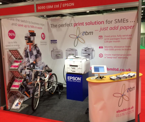EBM Ltd stand The Business Show