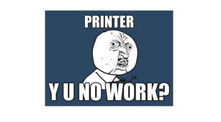 Cartoon - Printer Search on PC